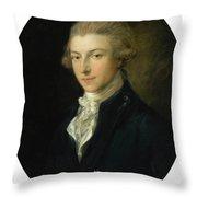 Portrait Of Louis Throw Pillow