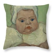 Portrait Of Marcelle Roulin Arles, December 1888 Vincent Van Gogh 1853  1890 Throw Pillow