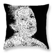 Portrait Of Margot  Throw Pillow