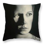 Portrait Of Michelle C. #2 Throw Pillow