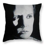 Portrait Of Michelle C. Throw Pillow