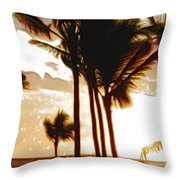 Portrait Of Paradise Throw Pillow