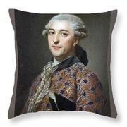 Portrait Of Prince Vladimir Golitsyn Borisovtj Throw Pillow