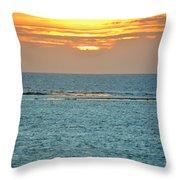 Portrait Of The Sea Throw Pillow