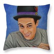 Portrait Of Shawn Davis Mooney  Throw Pillow