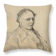 Portrait Of Sir Drack Throw Pillow