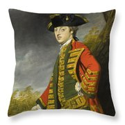 Portrait Of Sir Gerard Napier Throw Pillow