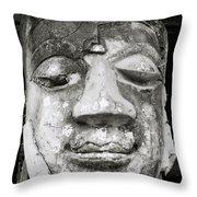 Portrait Of The Buddha Throw Pillow