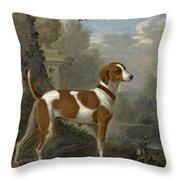 Portrait Of The Duke Of Hamilton's Hound Jewell Throw Pillow