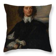Portrait Of Thomas Hanmer Throw Pillow