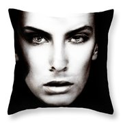 Portrait Of Young Man Throw Pillow