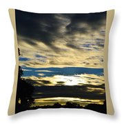 Portrait Sunrise Throw Pillow