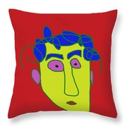 Portrait 01 Throw Pillow