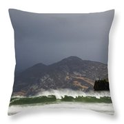 Portsalon County Donegal Ireland  Throw Pillow