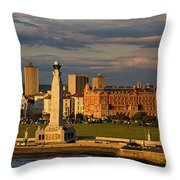 Portsmouth And Southsea England  Throw Pillow