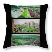 Portsmouth Ohio 1955 Throw Pillow