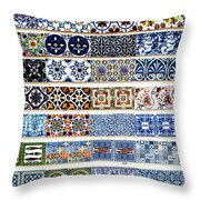 Portugal 17 Throw Pillow