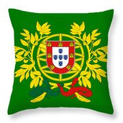 Portugal Crest  Throw Pillow