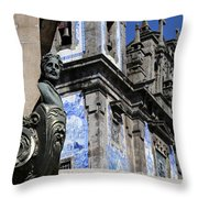 Portugese Architecture 1 Throw Pillow