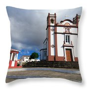 Portuguese Church Throw Pillow