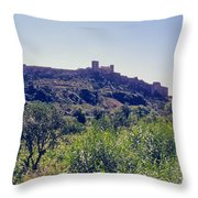 Portuguese Fortress Throw Pillow
