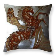 Poseidon II Throw Pillow