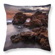 Poseidon's Sculptures Throw Pillow
