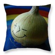 Posimoto Throw Pillow