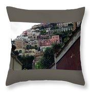 Positano, Amalfi,, Italy Throw Pillow