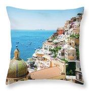 Positano, Italy II Throw Pillow