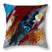 Positive Energy Throw Pillow