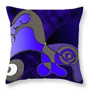 Possibilities Converge Throw Pillow