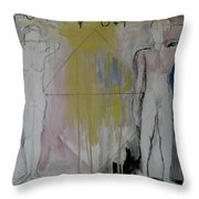 Possibility And Actuality Throw Pillow