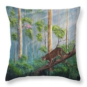 Possible Panther Throw Pillow