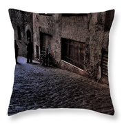 Post Alley IIi Throw Pillow