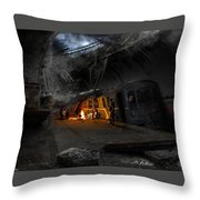 Post Apocalyptic Throw Pillow