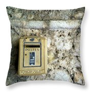 Postes Throw Pillow
