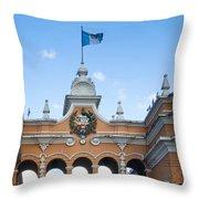 Post Office Guatamala City 1 Throw Pillow