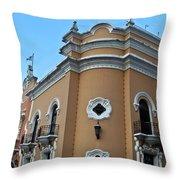 Post Office  Guatamala City 5 Throw Pillow