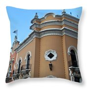 Post Office Guatamala City 6 Throw Pillow