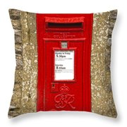 Postbox Throw Pillow