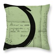 Postcard For Peace Throw Pillow