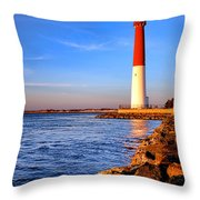 Postcard From Barnegat  Throw Pillow