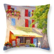 Postcard From Provence Throw Pillow