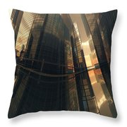 Poster-city 7 Throw Pillow