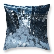 Poster-city 8 Throw Pillow
