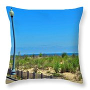 Posts Of The Sea Throw Pillow