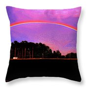 Pot Of Gold Throw Pillow