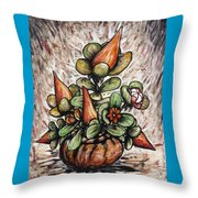 Potted Flower #2 Throw Pillow