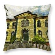 Potter Schoolhouse Throw Pillow